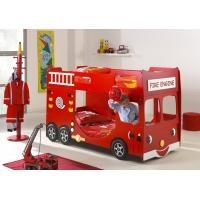Lit superposé camion de pompier - Emob4kids - 569.00€