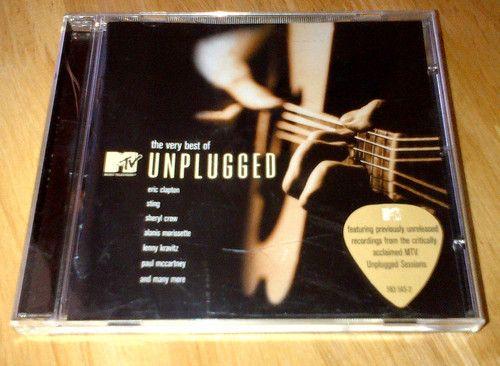 Very Best of MTV Unplugged Eric Clapton Sting Sheryl Crow Lenny Kravitz + more #uniqbeats #ebay #ebayuk