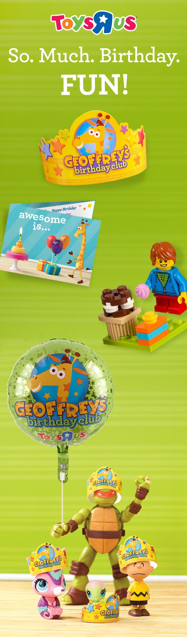 Toys R Us Birthday Party : Best geoffrey s birthday club images on pinterest