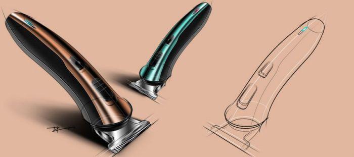 Alex Lin - Mouse Sketching - Design-Inspiration.net