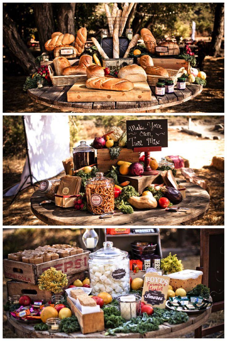 Etalage d'antipastis I Farmer's Market I ©MG Evénements Ile de Ré