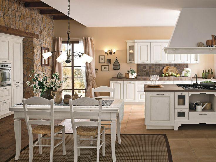 Shabby Chic Interiors: La cucina di oggi: estetica e praticità si uniscono