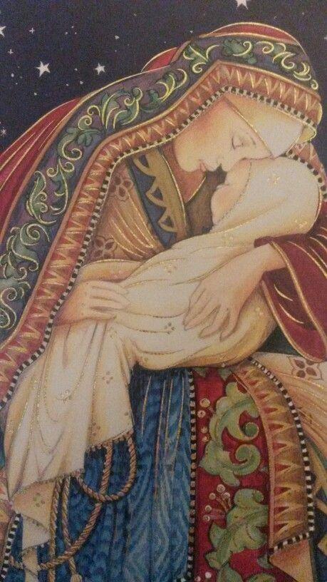 Querida María, en tus brazos, con Jesús, quiero estar.