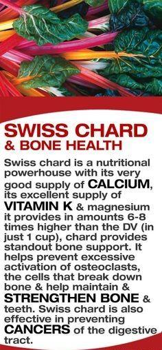 Swiss chard and Bone health