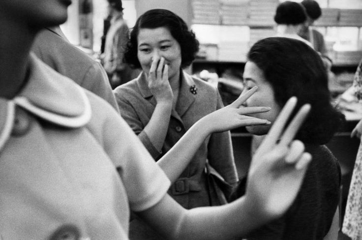 Women of Japan, Tokyo, 1958 by Marc Riboud
