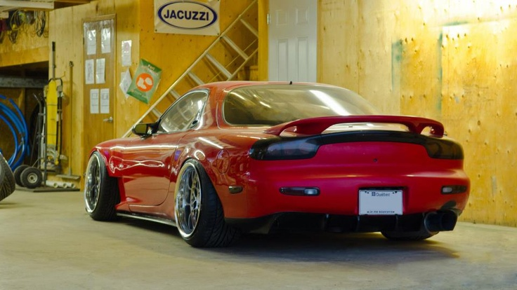 Red FD #RX-7