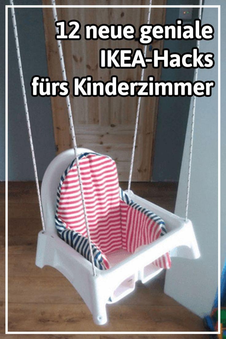12 neue geniale Ikea-Hacks, die jedes Kinderzimmer schöner und gemütlicher machen
