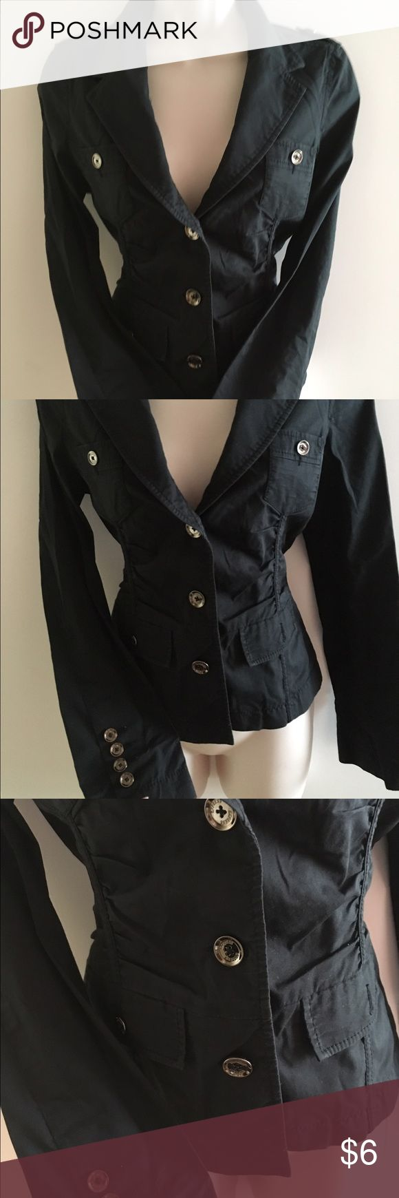 Dressy jacket Nice for work w pants skirt or jeans. Dress it up or down . Good condition. Express Jackets & Coats Blazers