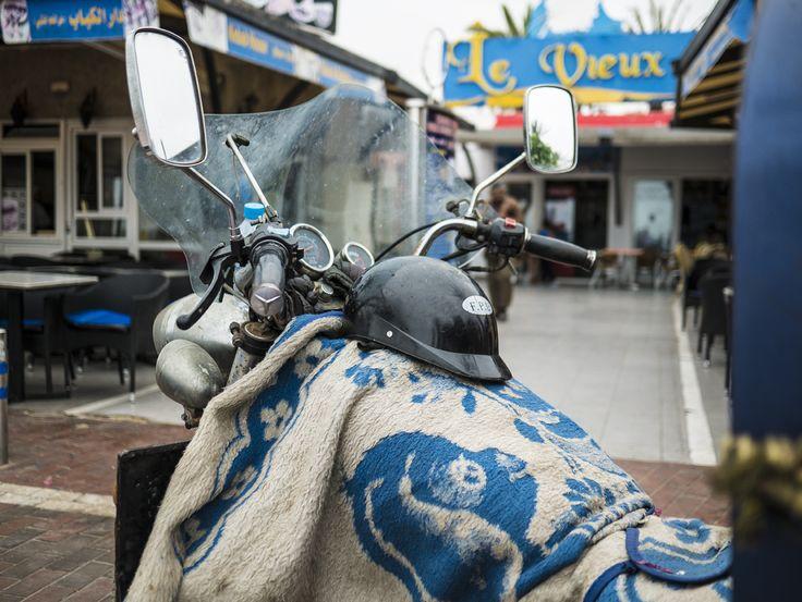 """""""Mobil"""" durch Agadir"""