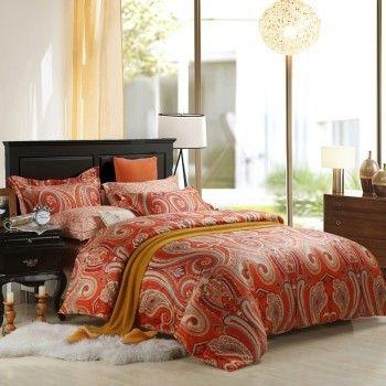 Luxury Western Paisley Print Bedding Sets Bedding