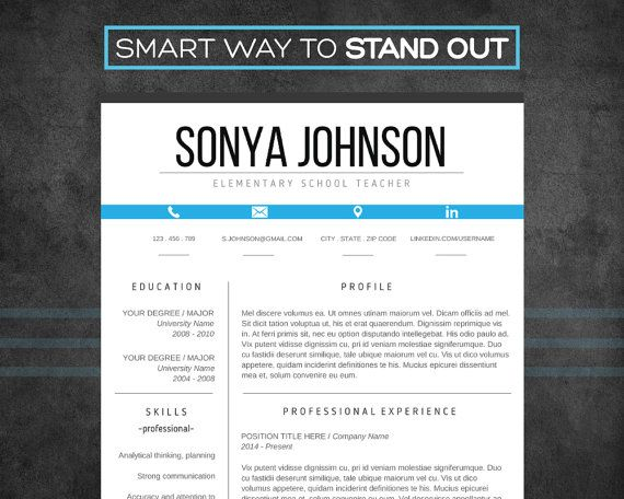 34 best Resume Templates images on Pinterest Resume templates