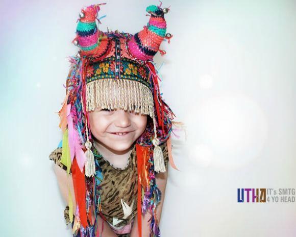 Little UTAH Shaman Headpiece from UTAH hats on Etsy