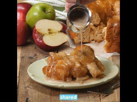 Mouth-Watering Apple Pie Monkey Bread