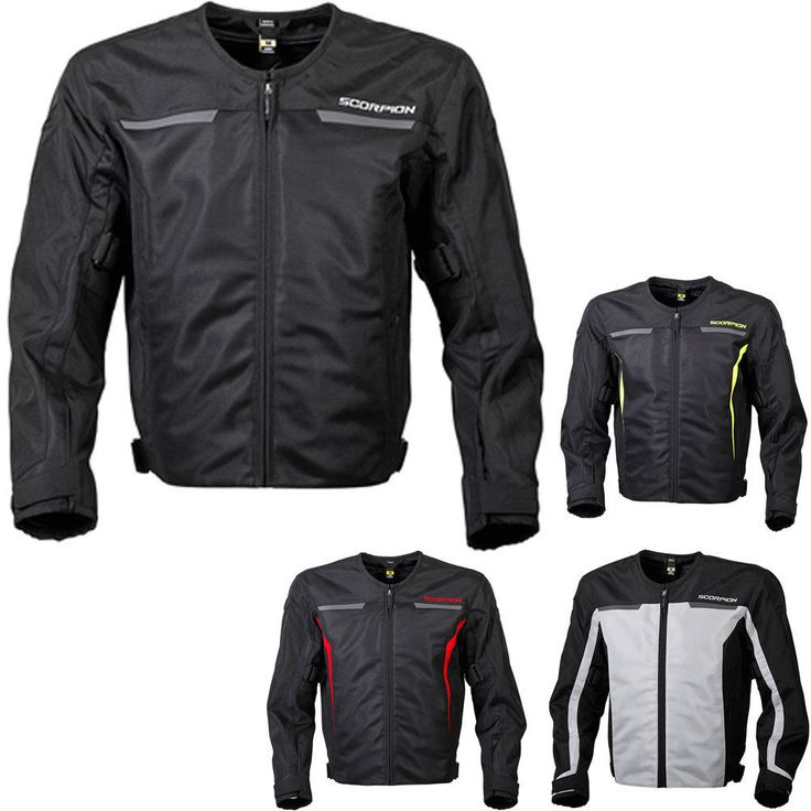 Scorpion Drafter II Ventilated Mesh Sport Motorcycle Jacket