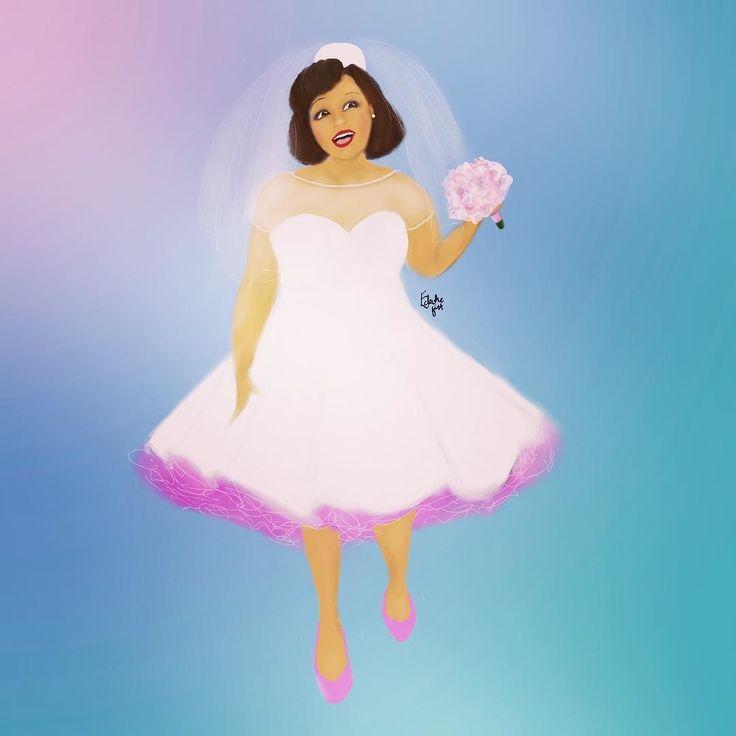 Purple petticoat  #wedding #weddings #bride #50sbride #blackbtide #eclecticgift #bridal #bridalillustration #digitalart #digitalartist #blackart #blavity #blackartist #londonartist #blackartspace #blackcreatives #blacklove #digitalillustration #digitaldrawing #bridalgown #weddingdress #vintage #beauty #blackgirlmagic