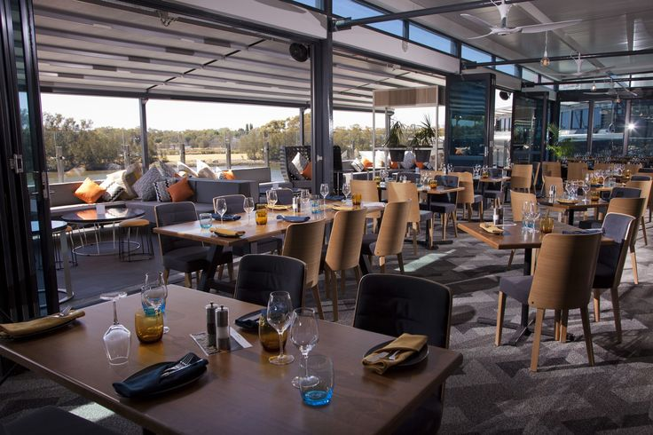 The Point Bar & Grill | Furniture Options. K3 Dining Chair with Timber Tables.