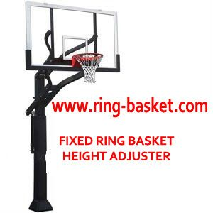 Jual Ring Basket , Tiang Basket Portabel  dan Papan Pantul Basket: Ring Basket Tanam - Adjustable Height