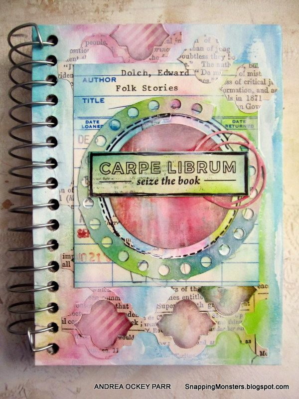 Snapping Monsters: Tutorials: Reading Journal Using the Pinkfresh Bibliophile…