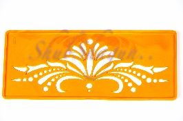 Buy Rangoli Stencil (Big)- Floral Border