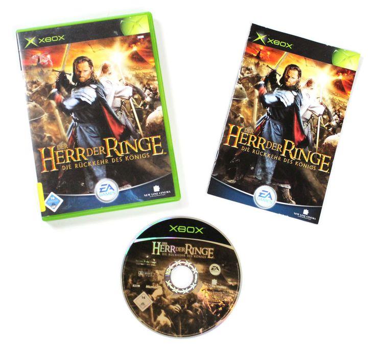 Microsoft Xbox Der Herr der Ringe: Die Rückkehr des Königs für X-BOX in OVP!
