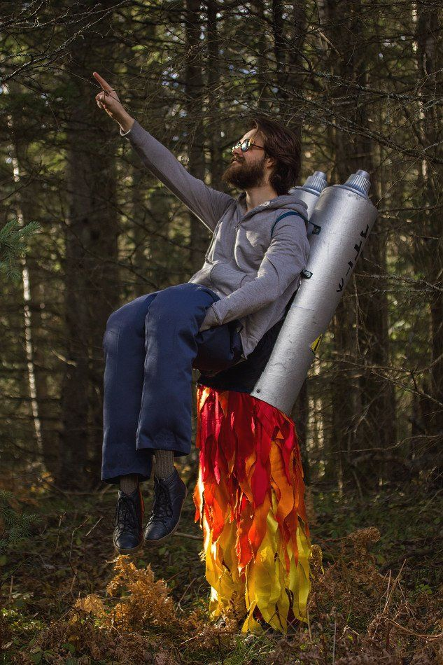 Rocket Man | 36 Elaborate Halloween Costumes to Make Everyone Jealous