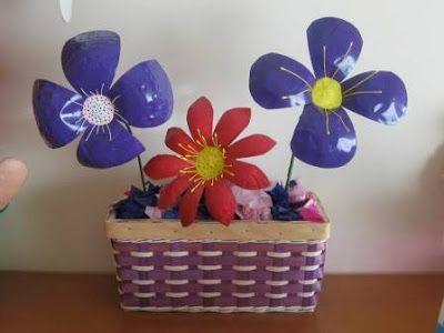 Flores Hechas con Botellas de Plástico para Manualidades ¡Crea Reutilizando!