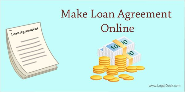 Loan agreement - LegalDesk.com