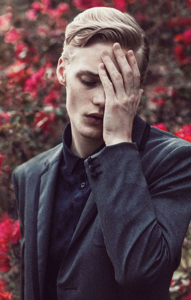 Kristian Silis captured by a 21 years old young photographer Iga Drobisz and styled by Randolph Tan with pieces by Versus, Pierre Balmain or Coupé-Cousu in exclusive for Fucking Young Online!