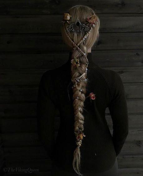 adorned viking braid ♥️