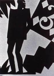 """Aaron Douglas """"Ma Bad Luck Card"""", 1926"""