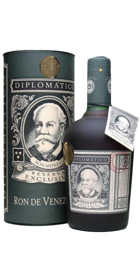 Ron Diplomatico Reserva Exclusiva  Most sold rum in Denmark, very nice taste 8/10