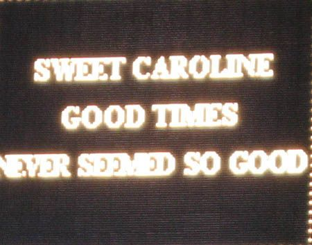 Sweet Caroline-Neil Diamond