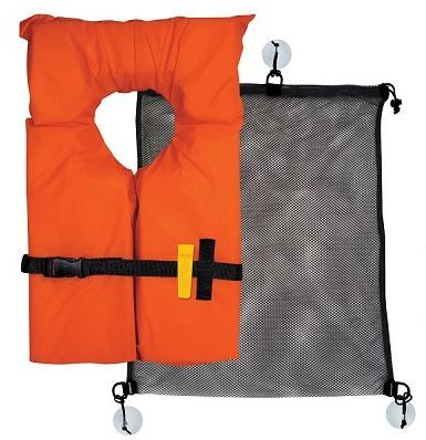 Airhead SUP Coast Guard Kit-• Meets #Coast #Guard requirements • Type II PFD fits most adults • #Pealess safety whistle • Mesh bag with handy D-rings, great for other gear too!