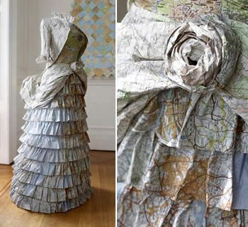 Susan Stockwell, paper construction