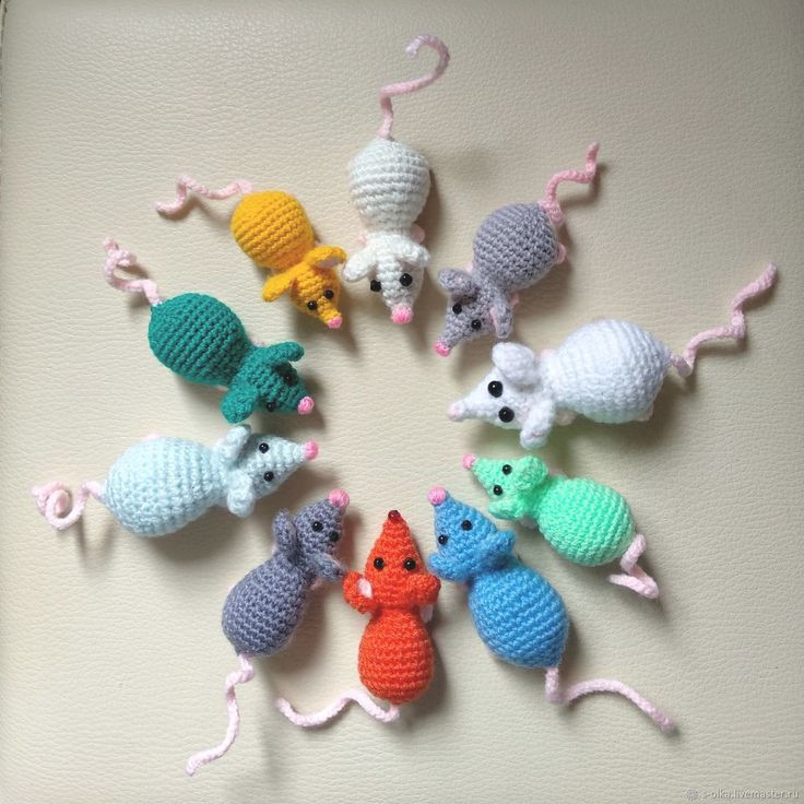 Mice Knitting Patterns - In The Loop Knitting
