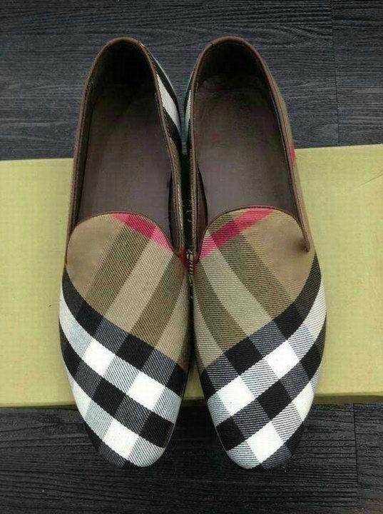 Tan Plaid shoes