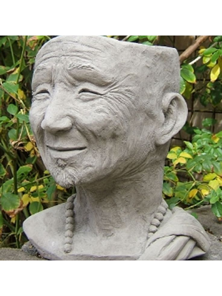 Monk Head Planter