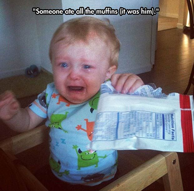 Kids Crying – 28 Funni Pics