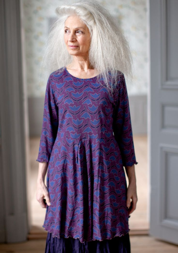 viva print tunic in cotton modal sale blouses waistcoats love those clothes. Black Bedroom Furniture Sets. Home Design Ideas