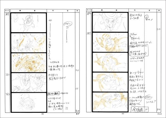 Nausicaa Of The Valley Of The Wind  The Original Storyboards