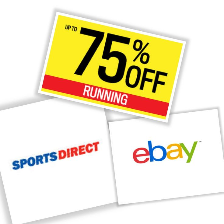 Save up to 75%! Find Running & Sports Wear offers in the Sports Direct eBay Shop Sale ebay.to/2Ekj99q