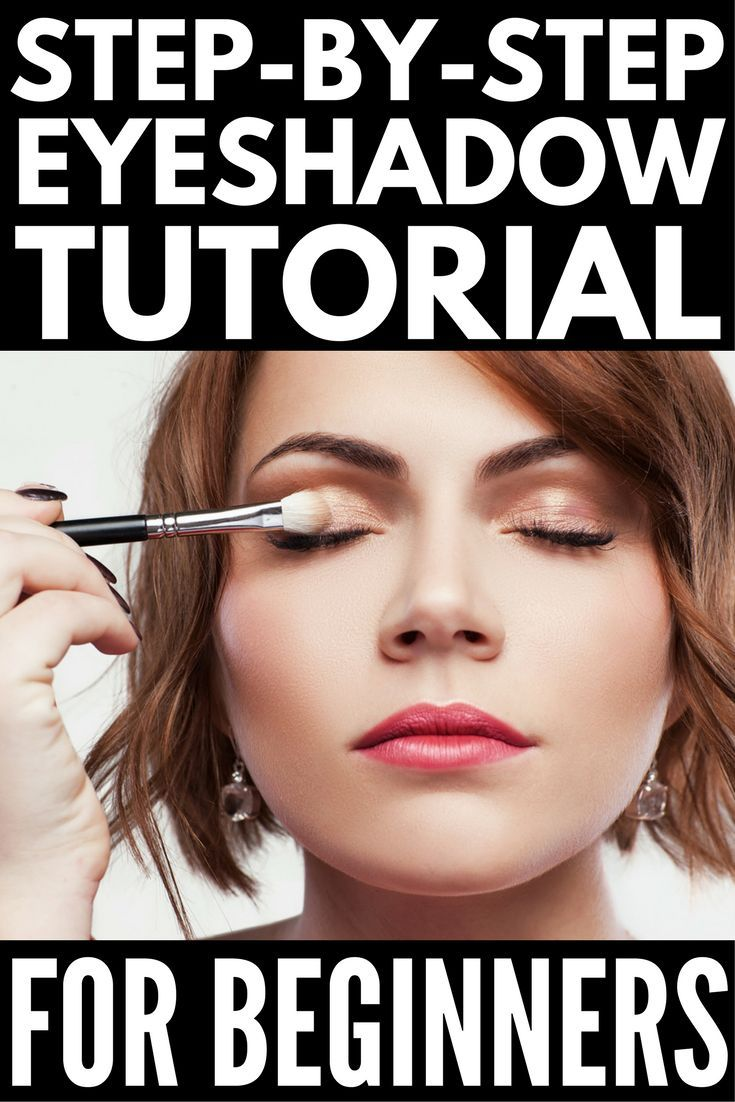 Ridiculously Easy Step By Step Eyeshadow Tutorial For