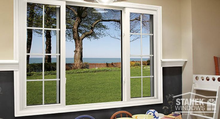 A White Sliding Window In 1 4 1 2 1 4 Configuration And