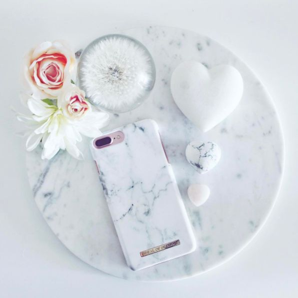 White Marble by lovely @myloveandbeyond - Fashion case phone cases iphone inspiration iDeal of Sweden #marble #gold #fashion #inspo #iphone #marmor