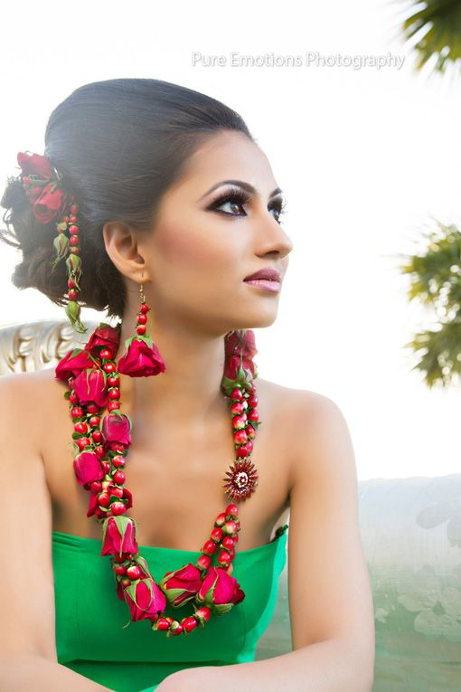 Suhaag garden red roses jewelry design 2
