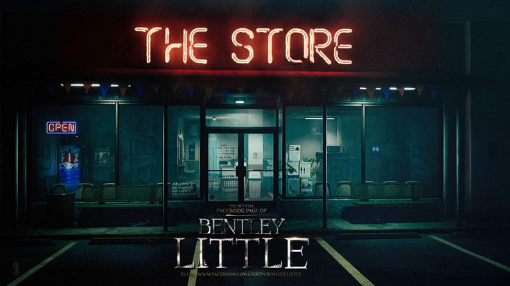 The Store. Promotional Artwork for a Bentley Little Project.  Please do not steal this image. It's tracked and protected by Digimarc.  #bentleylittle #thestore #michaelmknight #book #books #artwork #horror