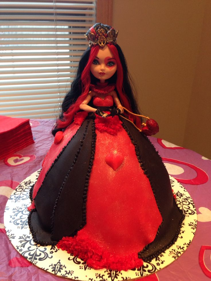 Lizzie Hearts Birthday Party Cake Ever After High My