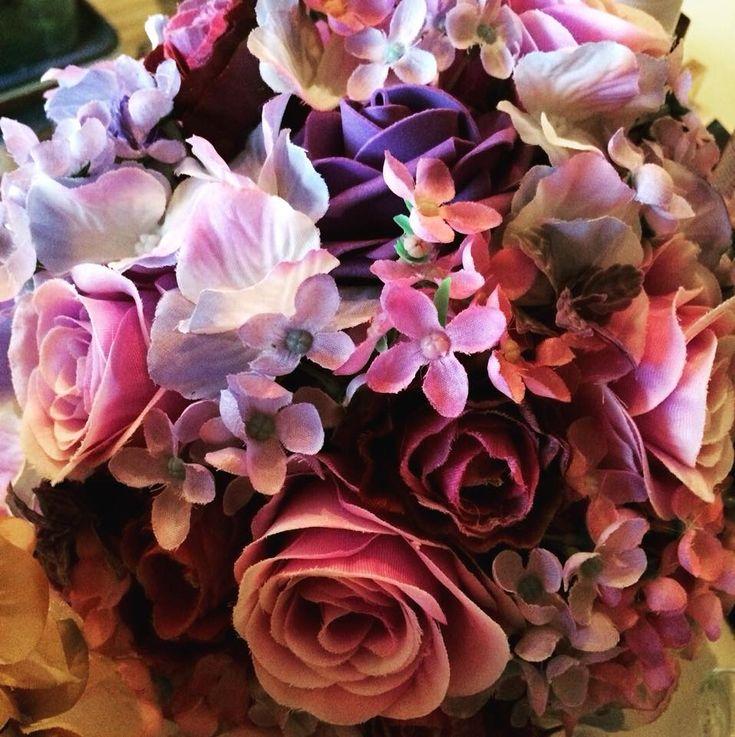 Umělé svatební kytice