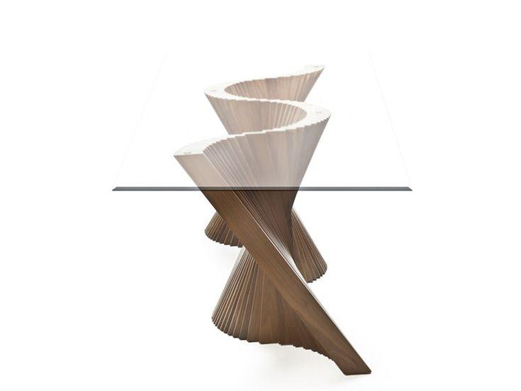 Mesa retangular de jantar Coleção Wave by KENNETH COBONPUE | design Kenneth Cobonpue