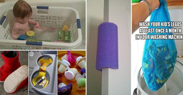 Creative IdeasSuper Simple Life-Saving Baby Hacks - Creative Ideas
